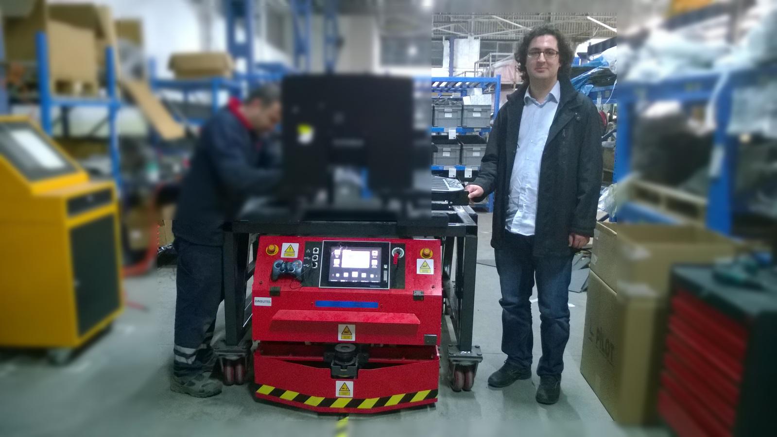 Robutel A.Ş. Robot ve Ben